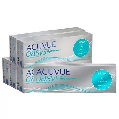 acuvue oasys 1 day fiyat, 6 kutu oasys günlük lens fiyatı, acuvue günlük lens fiyatı, oasys 1 day lens