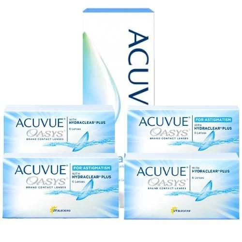 Acuvue Oasys + Acuvue Oasys For Astigmatism Set, kampanyalı lens fiyatı, acuvue lens fiyatı, oasys lens fiyatı, oasys toric lens fiyatı