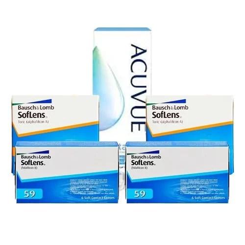 SofLens 59 + SofLens For Astigmatism Set 4 Kutu,soflens lens fiyatı,aylık lens fiyatı,toric lens fiyatı