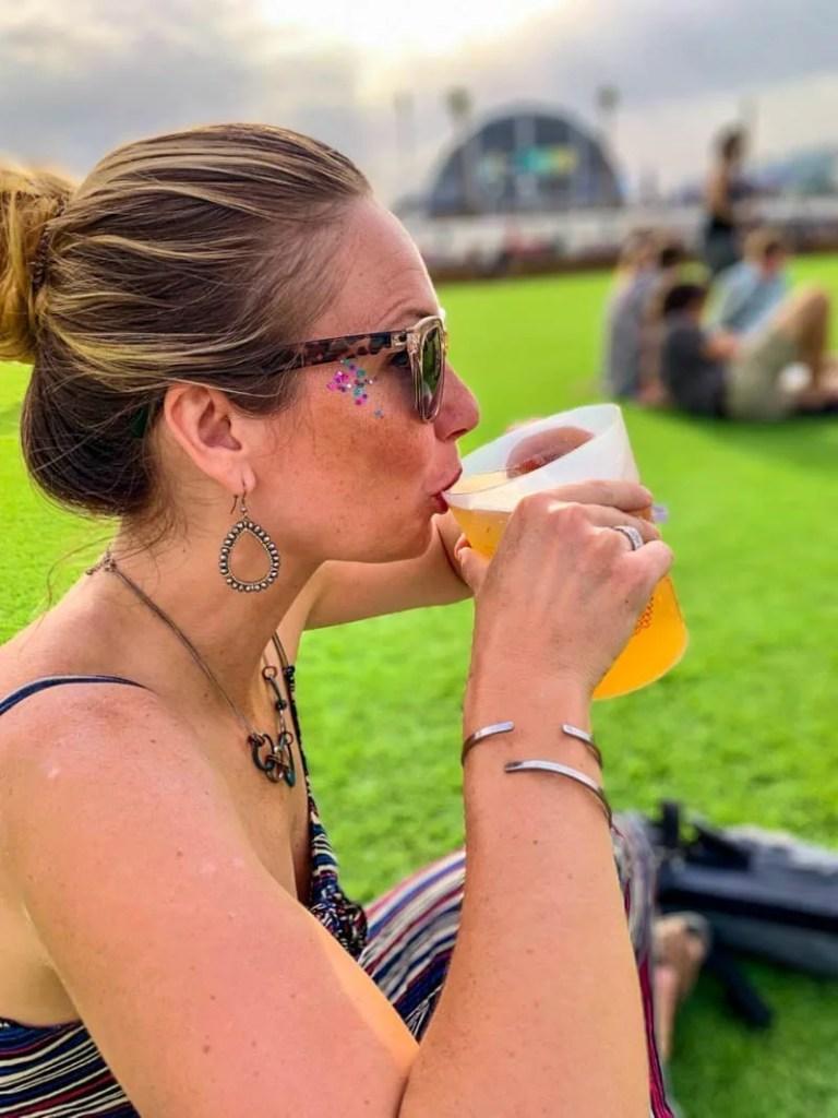 Drinking festival beer