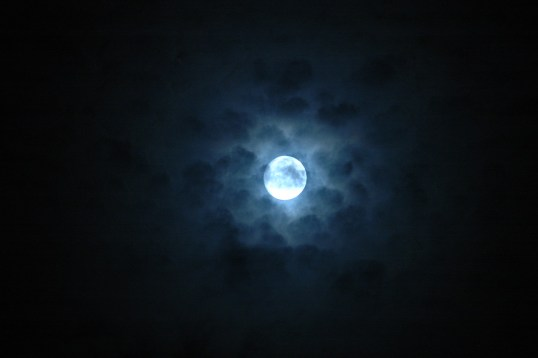 the magical full moon