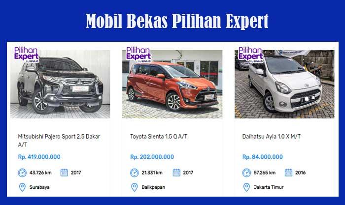 Mobil Bekas Murah Pilihan Expert
