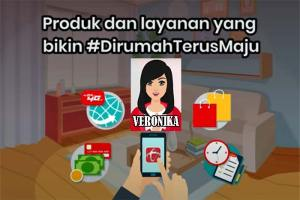 Tanya Veronika Asisten Virtual Dari Telkomsel