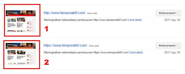 menambah semua URL domain ke Search Console