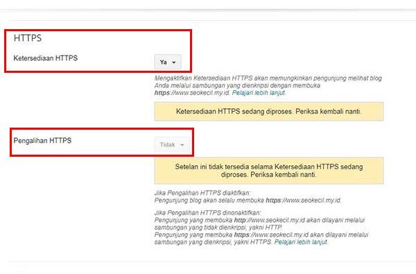 HTTPS Untuk Custom Domain