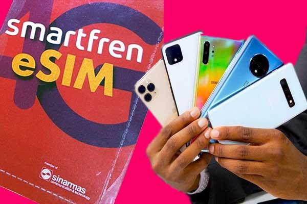 smartfren-eSIM smartphone