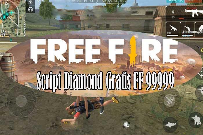 Script Diamond Gratis FF 99 999
