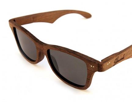 oculos de sol de madeira