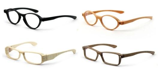 Óculos de madeira feito a mão