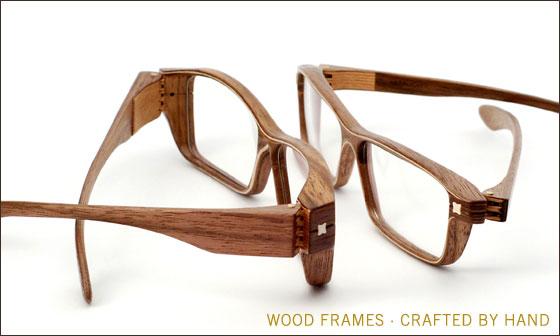 Óculos artesanais