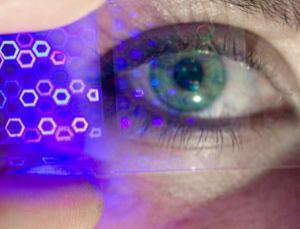 Lente de contato projeta imagens 3D