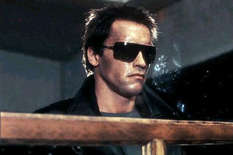 O Exterminador do Futuro – Arnold Schwarzenegger – Gargoyles ANSI
