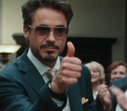 Homem de Ferro 2 – Óculos – Robert Downey Jr – Initium All