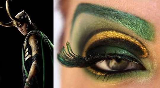 Maquiagem Loki