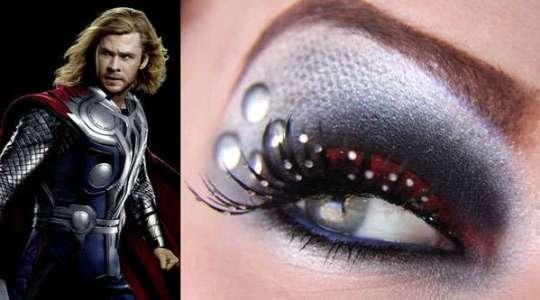 Maquiagem Thor