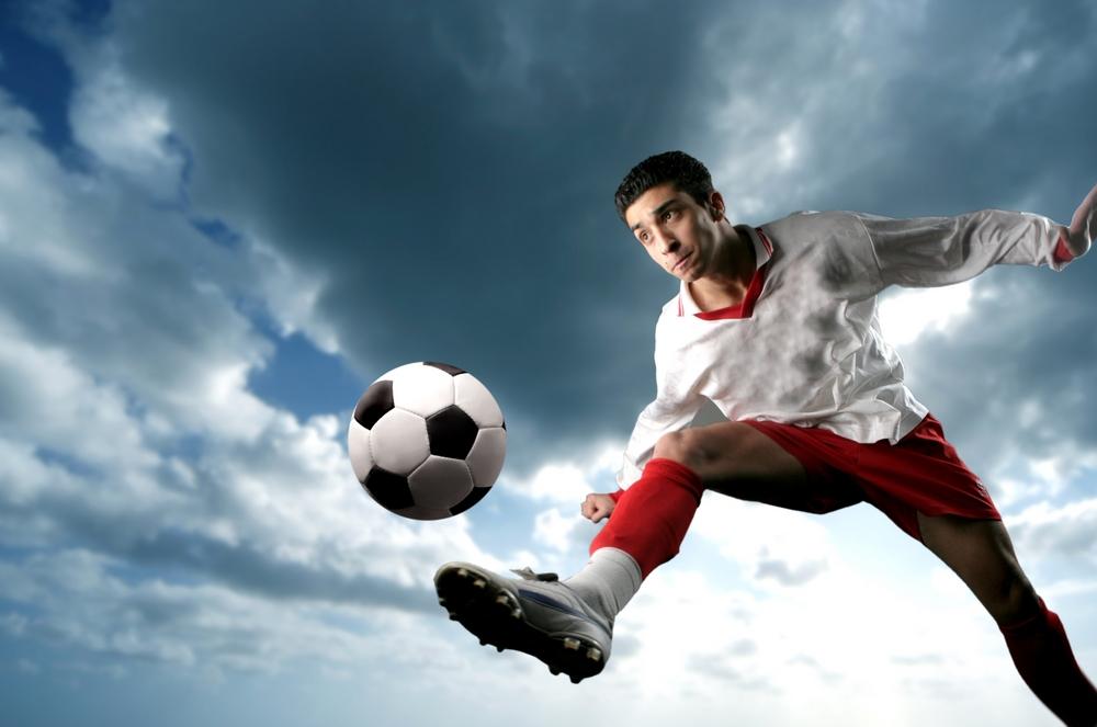 Esportes com lentes de contato