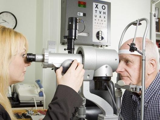 Exame de visão