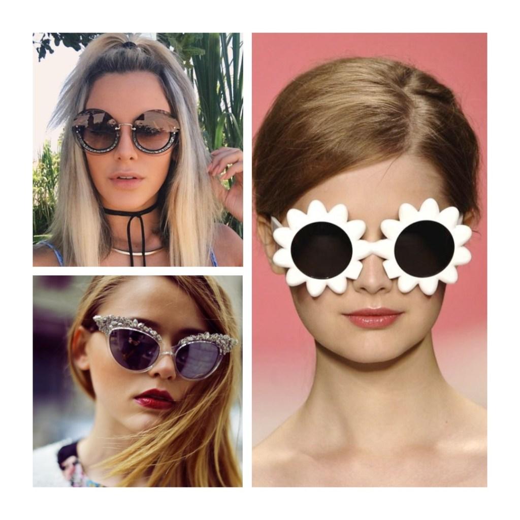 óculos diferentes