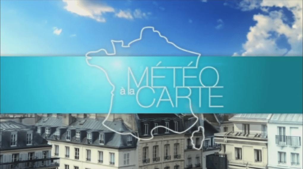 Reportage dans l'émission « Météo à la carte » du jeudi 17 novembre 2016