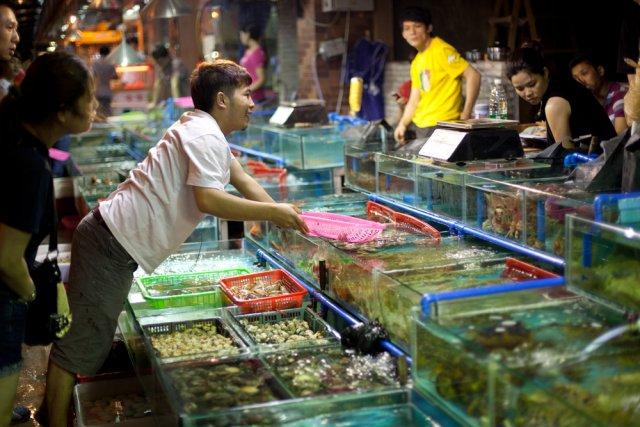 supermercato pesce cina