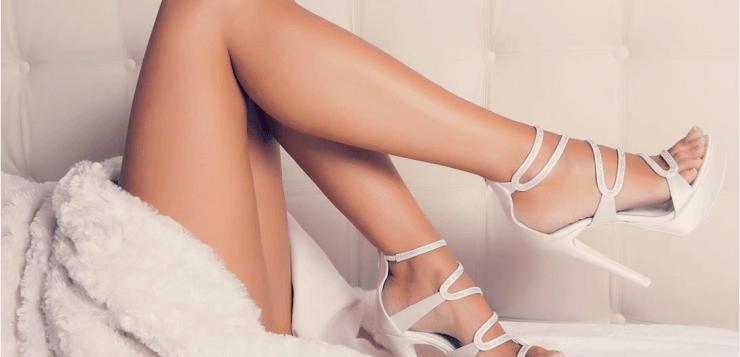 Le scarpe da sposa