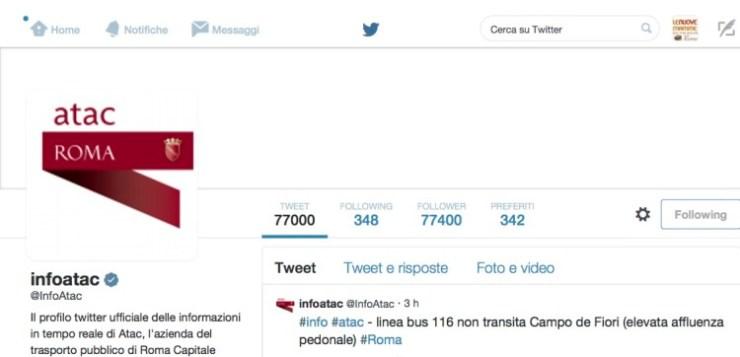 L'autobus non passa mai… twittalo a @infoatac