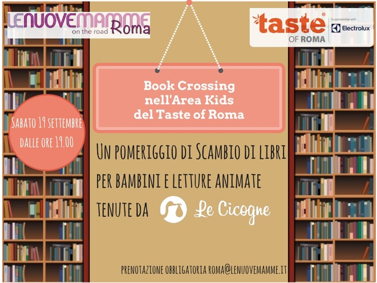 Bambini taste of roma book crossing