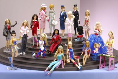 Barbie e le sue carriere_uso_mostra