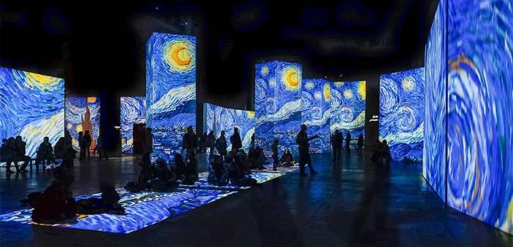 Van Gogh Alive a Roma: una mostra incredibile
