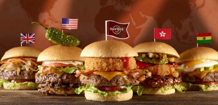 Are you legendary? All'Hard Rock Cafe è World Burger Tour