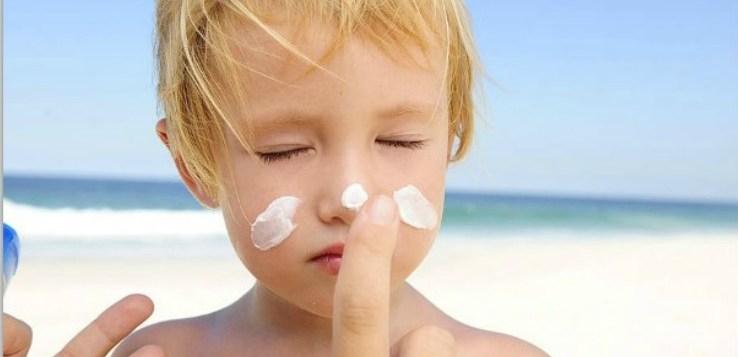Durante l'esposizione al sole ricordati di proteggere la pelle del tuo bambino