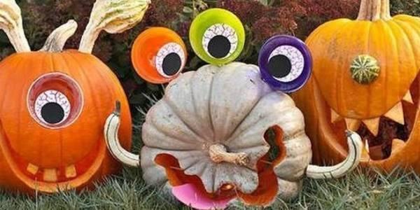 Decorazioni di Halloween fai-da-te da realizzare con i bambini