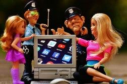 foto dei minori in rete