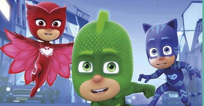 Il fantastico trio dei PJ Masks arriva in home video
