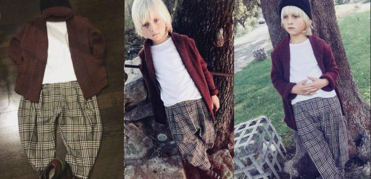 La moda comoda e di stile per bambini di Le Touche