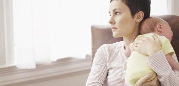 Sentimenti materni ostili verso il bebè, dopo il parto.