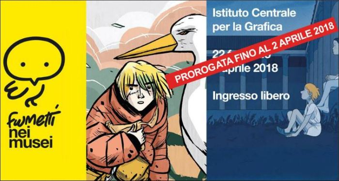 fumetti nei musei roma