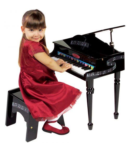 pianoforte a coda per bimbi