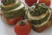 torri di zucchine