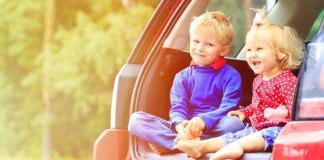 viaggio coi bambini