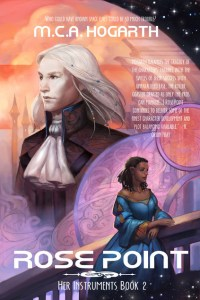 Cover for Rose Point by M.C.A. Hogarth