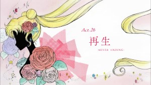 Sailor Moon Crystal: Act 26, Replay, Never-ending