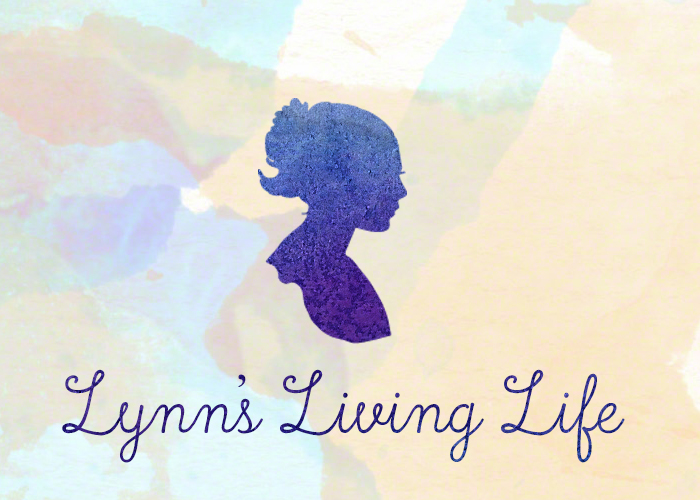 Daily Life. The text 'Lynn's Living Life' underneath the cameo silhouette of a woman. Daily life updates.