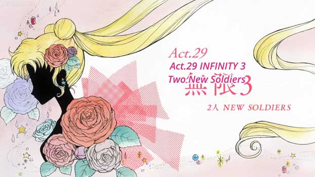 Sailor Moon Crystal Act 29: Infinity 3, 2 New Soldiers