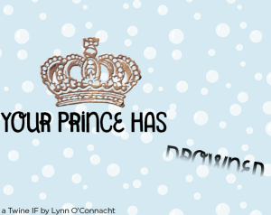 Title card for Your Prince Has Drowned