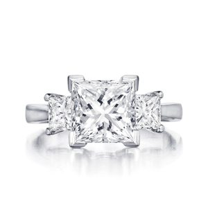 leo-ingwer-custom-diamond-engagement-three-stone-princess-front-LET1031