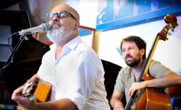 Leo Minax & Mistoquente - Foto 1 - Café Central -Madrid 2016. Foto hecha por Javier González