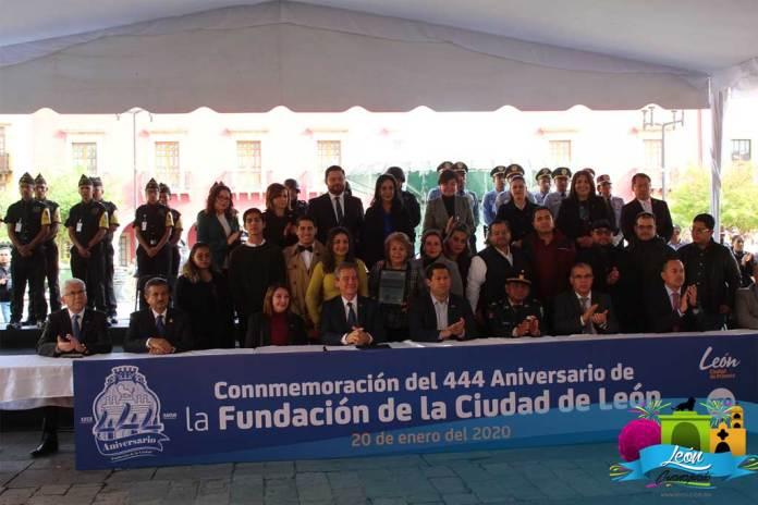 Fundación de la Ciudad de León Gto