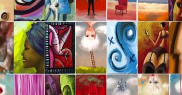 peinture, numérique, pinceau, léonard, ebrush