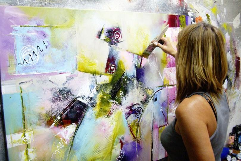 Elisabeth Roche Alazet peinture abstraite